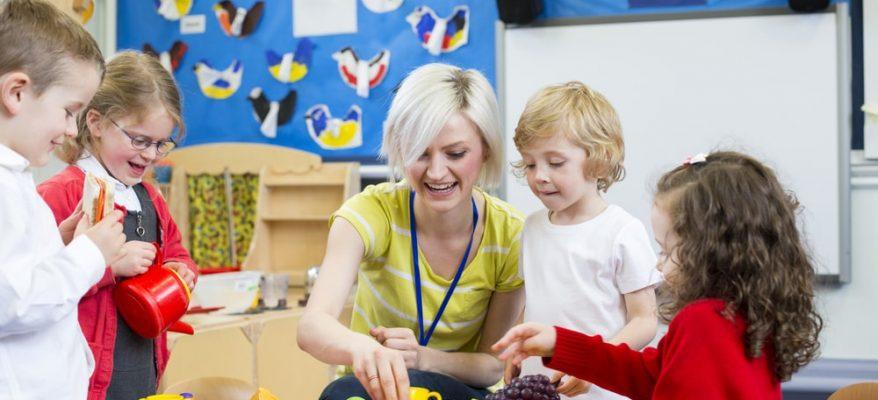 lavorare con i bambini